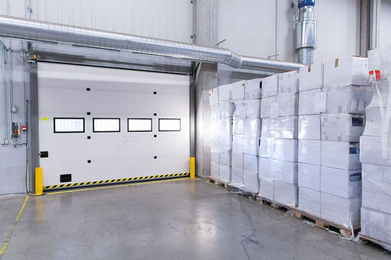 Industriel porte garage portes de garage desrosiers for Futurol industrie porte de garage